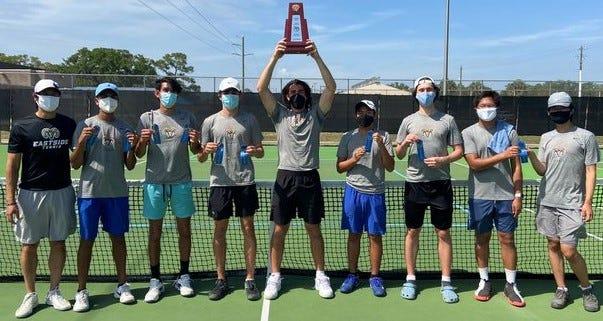 Eastside's boys tennis team