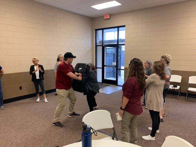 The Southside Police Department offered a self-defense/firearms safety class earlier this month and will host another at 8 a.m. Saturday at the Southside Community Center.