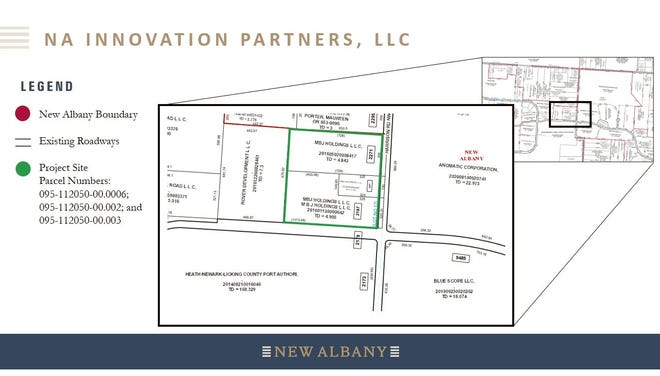 NA Innovation Partners LLC is poised to construct a 130,000-square-foot building at the northwest corner of Harrison Road NW and Innovation Way East.