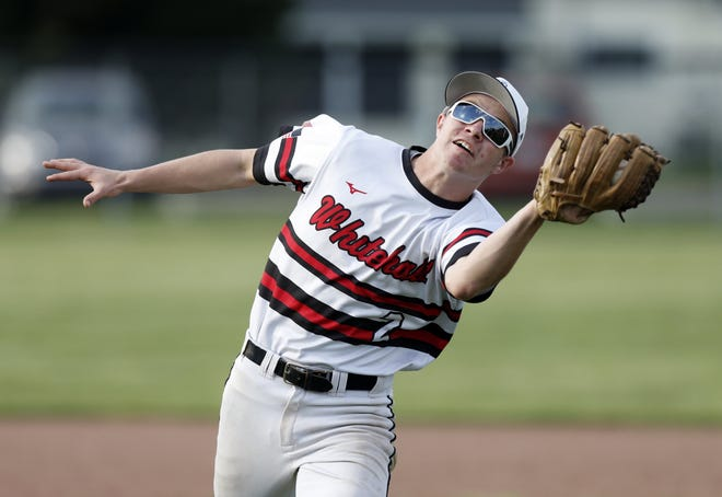 """Senior pitcher/shortstop Jace Peck has set the tone for the Whitehall-Yearling baseball team this season. """"Jace is swinging the batreally well,"""" coach Johnny DeRingsaid. """"We can't be without him on defense.I hope his hard playing rubs off on the other guys."""""""