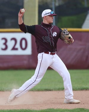 Canal Winchester sophomore Joey Helms was 4-0 as the baseball team was 9-4 overall and 3-1 in the OCC-Capital before playing Franklin Heights on April 22.