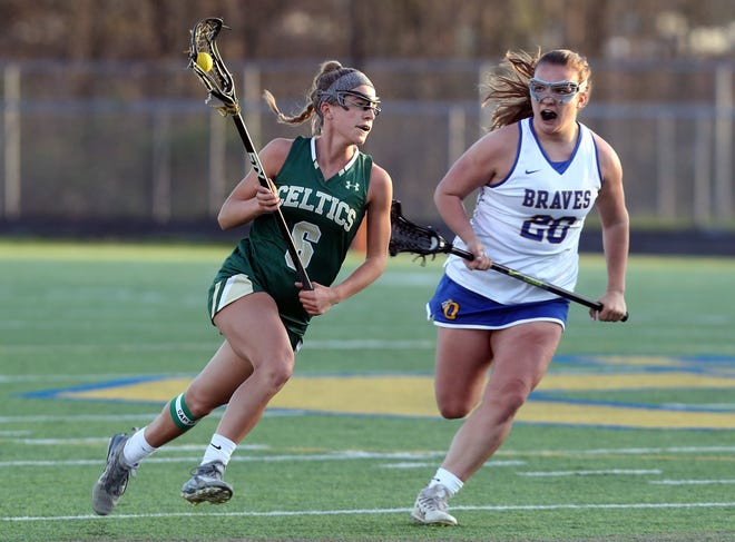 Senior Katelyn Root's transition from defender to midfielder is one of the moves that has paid dividends for the Jerome girls lacrosse team this season.