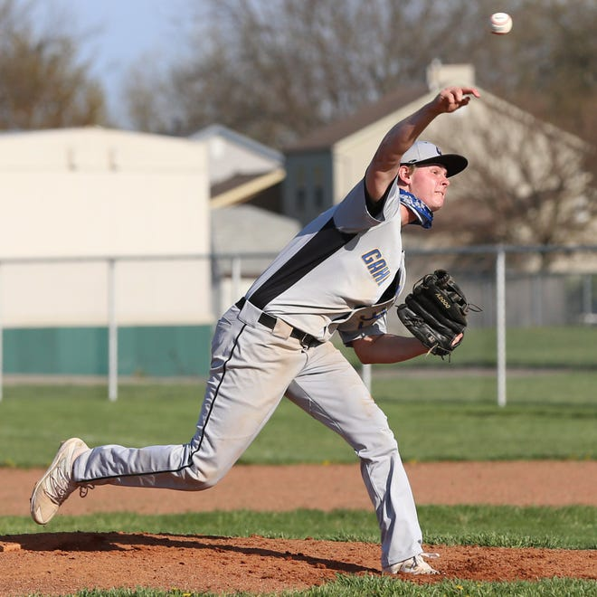 Zach Marzetz has been the No. 1 pitcher for Gahanna this season, earning victories in each of his first three starts. He also is the only Lions player returning from the 2019 team that went 19-8 and was a Division I district runner-up.