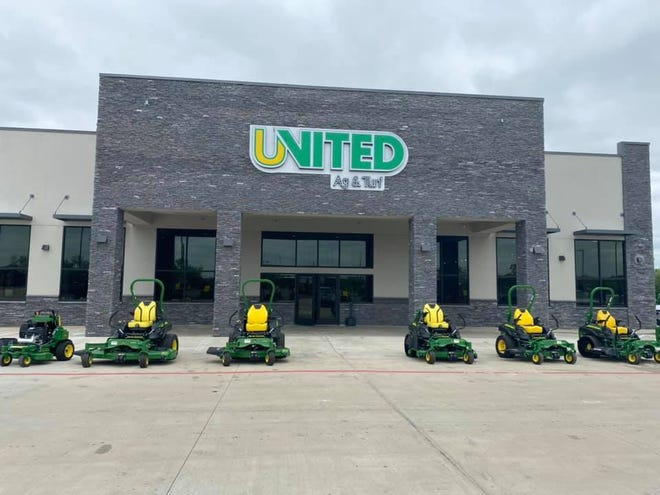 Recently opened United Ag & Turf reported sales during its first week open.