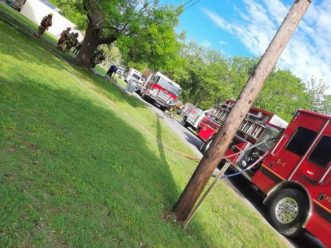 An April 17 fire severely damaged a home in the 400 block of West Fulton street. The Van Alstyne Fire Department, with help from Anna, Howe, and Gunter firefighters managed to contain the fire to the kitchen, attic, living room and garage.  No injuries were reported.