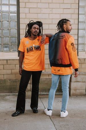 FC Cincinnati and MLS have partnered with three local Black-owned apparel companies for a limited-edition clothing line. This designed from BlaCk OWned Outerwear will be available for $58 for the T-Shirt and $155 for the bomber jacket.