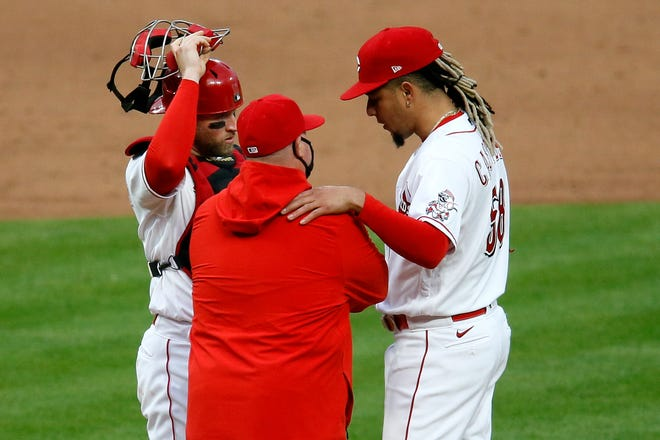 Over the past 30 days, Cincinnati Reds starting pitcher Luis Castillo has the fifth-lowest ERA among all qualifying pitchers in MLB.