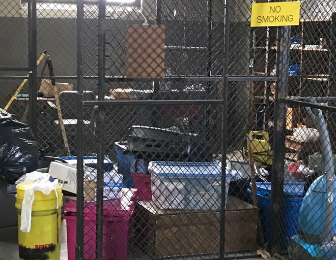 Henderson police are storing large amounts of items allegedly stolen from storage units during the last several months. One person has been arrested. (April 21, 2021).