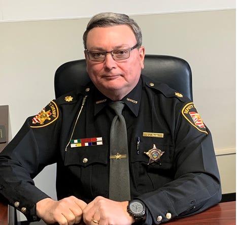 Chief Deputy Joe Masi of the Richland County Sheriff's Offie