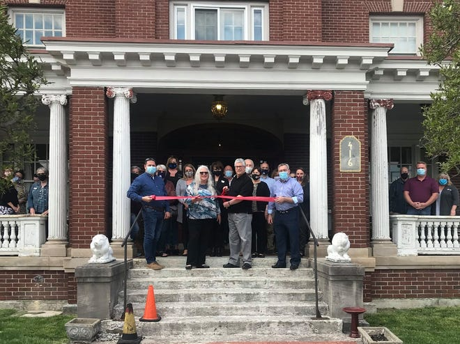 A ribbon-cutting ceremony was held at the Huber Historic Home in Marion, which will be available for rental for events, tours and extended stays.