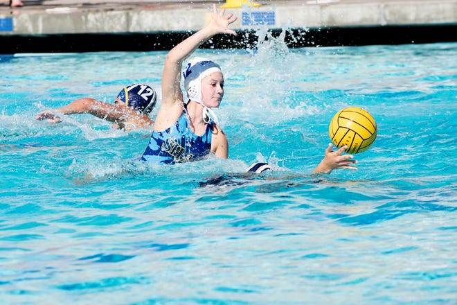 Caitlin Logan dropped playing soccer and now plays water polo.
