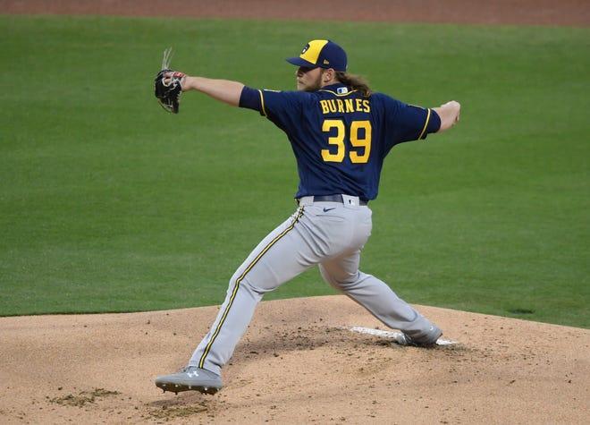 Corbin Burnes has a 0.37 ERA in his four starts this season.