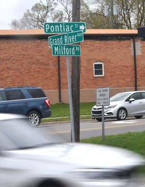 Traffic changes may soon be coming to the three -road intersection of Pontiac Trail, Grand River Avenue and Milford Road in New Hudson.