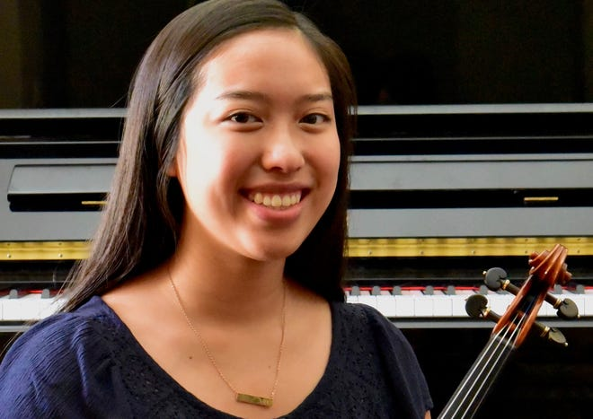 Erin Shen, a recent graduate of Palm Desert High School, started as a musician and violinist in The Buddy Rogers Youth Symphony when she was 8 years old.