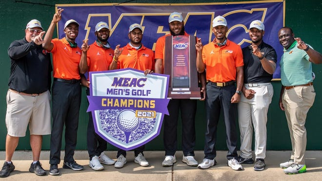 The FAMU men's golf team won the program's first-ever MEAC title Tuesday.