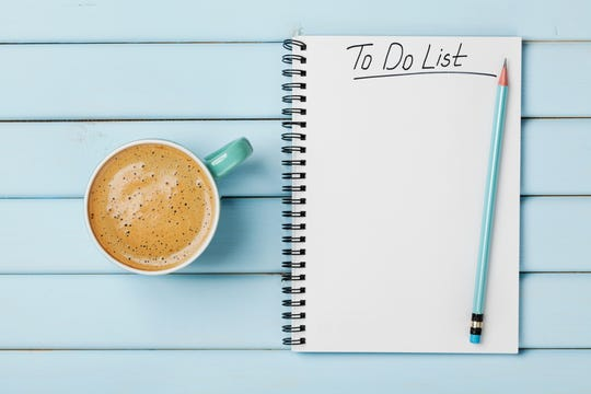 Lists are indispensable to the parent whose goal is to retain some semblance of sanity