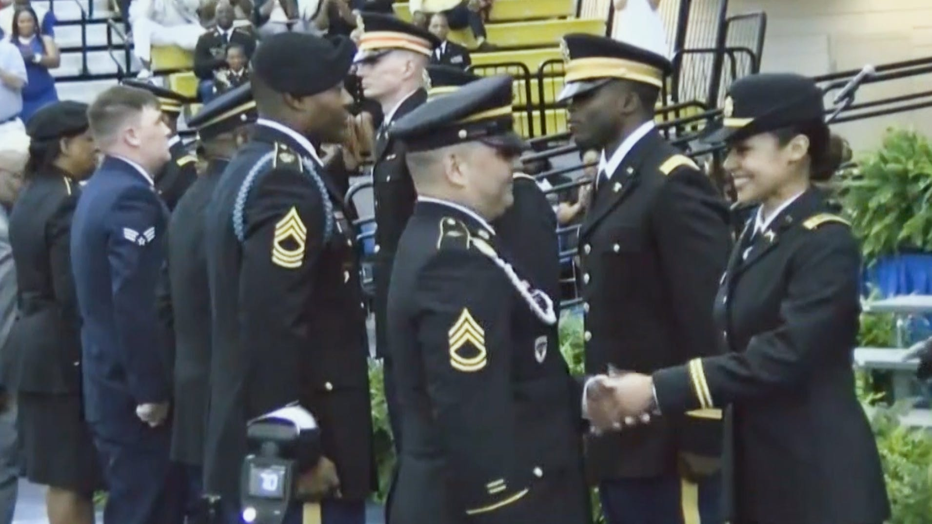 Army dad gets surprised on daughter's big day
