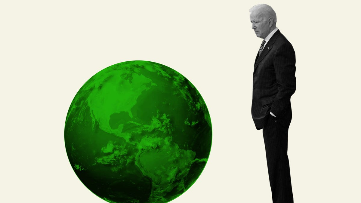 Joe Biden made climate change a priority of his presidency, but progressives want him to go bigger