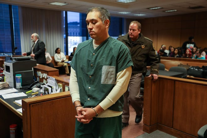 Former Michigan state trooper Mark Bessner was sentenced to prison for shooting Damon Grimes with a stun gun while the boy fled police on an ATV traveling 35-40 mph.