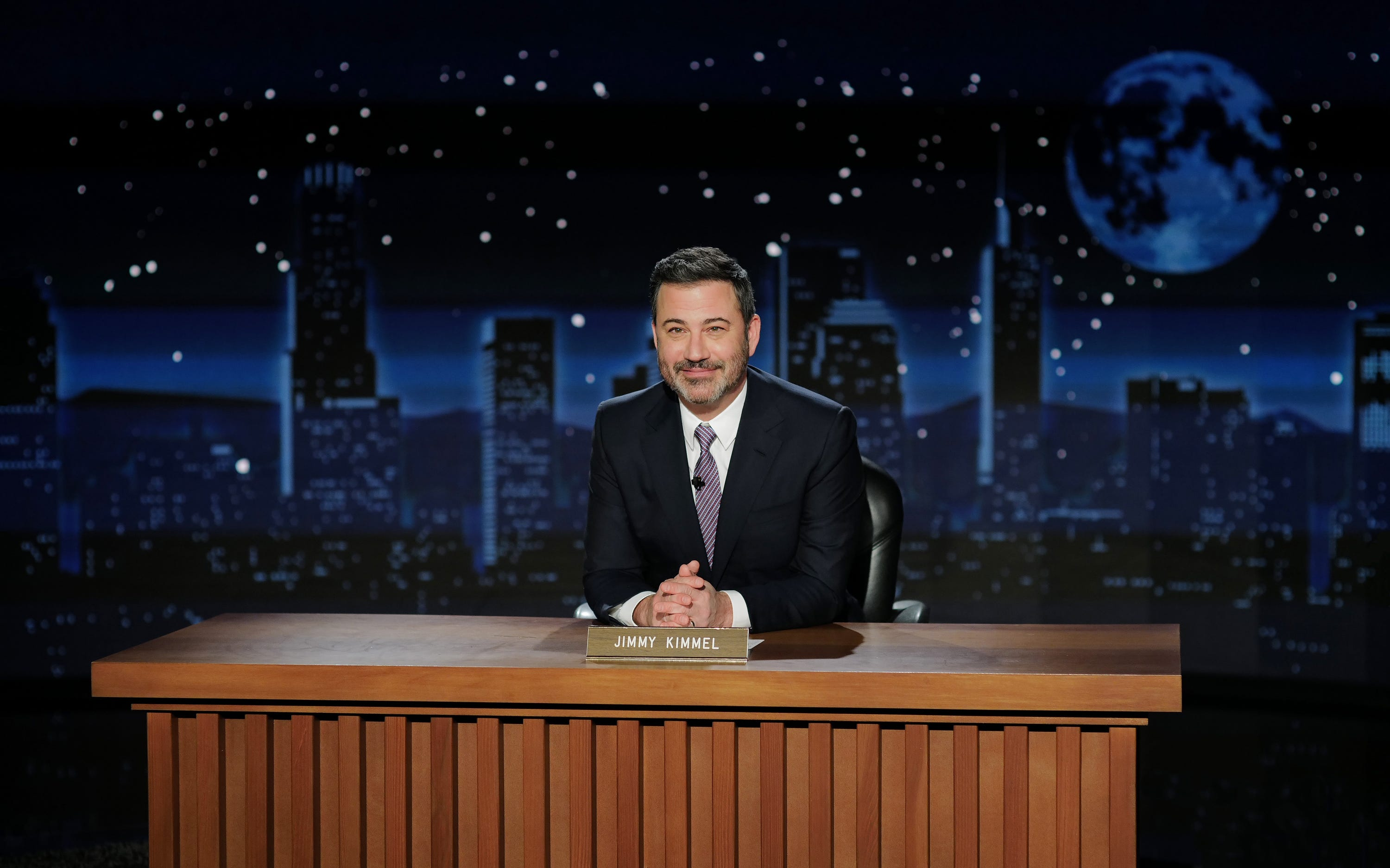 Kimmel finds seemingly any excuse to mention Trump