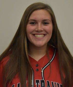 Lake Travis first baseman Zoe Jameson said she enjoyed bonding with her teammates during a 2020 trip to Southlake for a game.