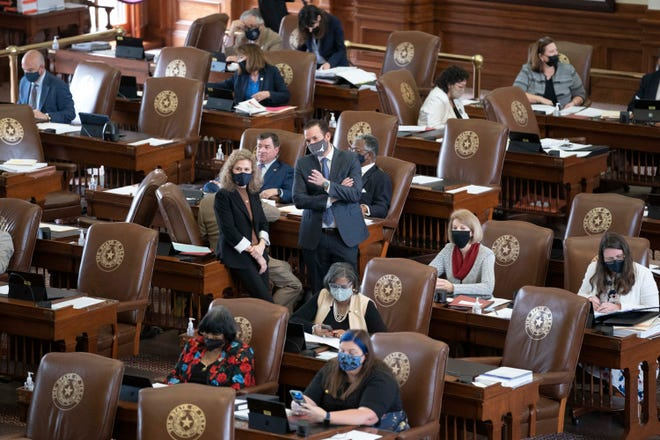 The Texas House on Thursday debates the state's biennial budget. Democrats thought they had the votes to approve an amendment to expand Medicaid, but it failed mostly along party lines.