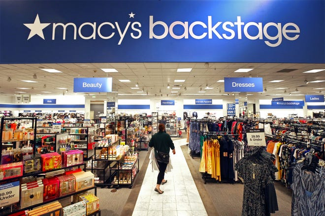 A portion of the Macy's second floor is now dedicated to Macy's Backstage, a discount store for savvy shoppers at Summit Mall in Fairlawn.