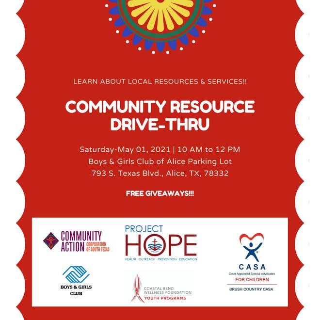 community resource drive-thru
