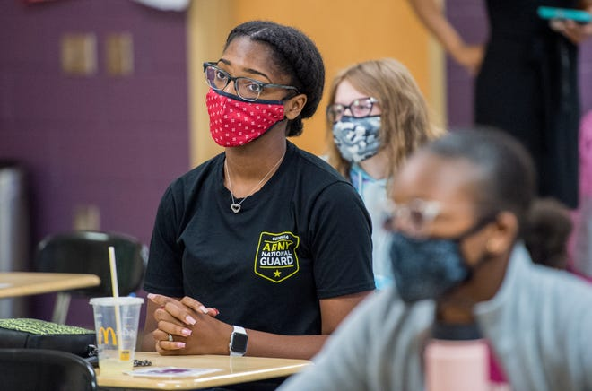 The school district will require masks for all students, staff and visitors, regardless of vaccination status, starting Monday, Aug.2.