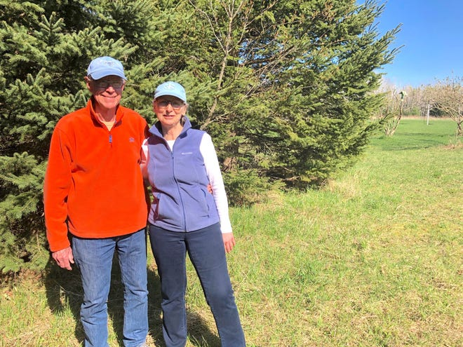 Michael and Joanne Cromley moved to the Cheboygan County area with the intent on purchasing some property and turning it into a conservation easement to protect it from harm.