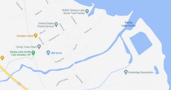 While not determined yet, plans are being formulated for the Keuka Outlet Trail to be extended from the current trailhead at Seneca Street in Dresden eastward along the north bank of the Outlet to the shore of Seneca Lake on property owned by Greenidge Generation.