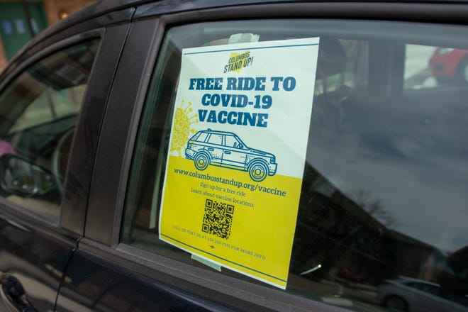 Columbus Stand Up's volunteer drivers give free rides to vaccination sites