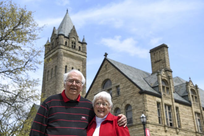 Bob and Mary Holm are founding members of the Lifelong Learning Institute at Ohio Wesleyan University in Delaware, which offers semester-long classes to adults ages 55 and over for a small fee.