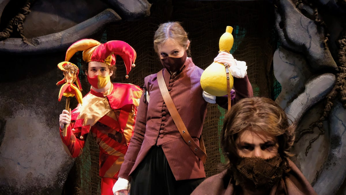 Theater review | Otterbein's virtual presentation of 'The Tempest' visually pleasing