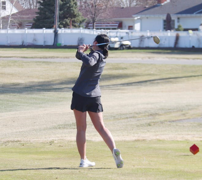 Joslynn Leach was named to the All-North Fore Conference team this season.