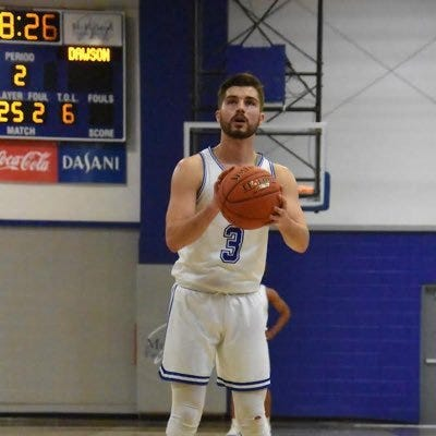 Dylan Hushaw in action for Miles Community College.