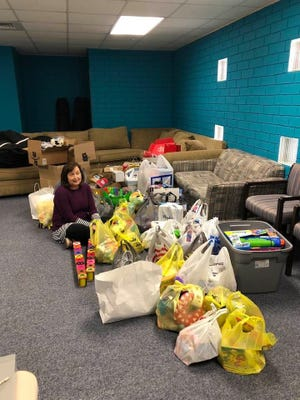 Poole wants the donated toys to be the light for children going through the treatment process.