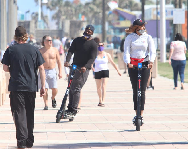 Daytona city commissioners are considering a ban on electric scooters that could be citywide.