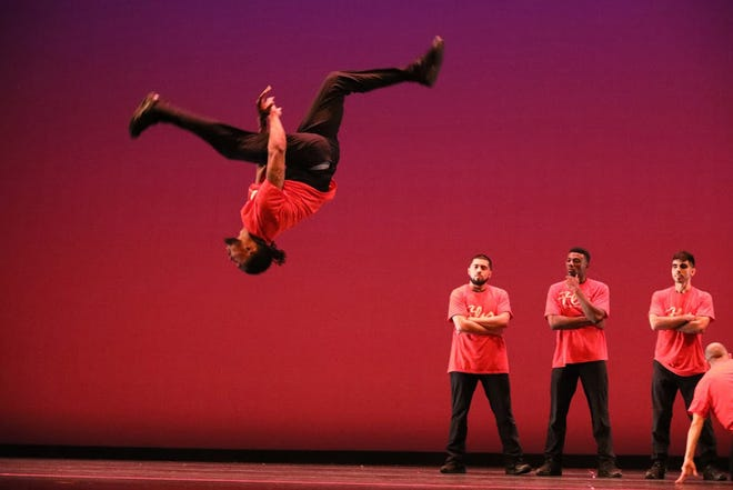 Houston's FLY Dance Company will thrill Burlington Civic Music fans at 7:30 p.m. today at Memorial Auditorium. The group performs hopped-up hip hop routines to a wide variety of music besides hip hop. This show is for all ages. Call 319-752-0336 for more information.