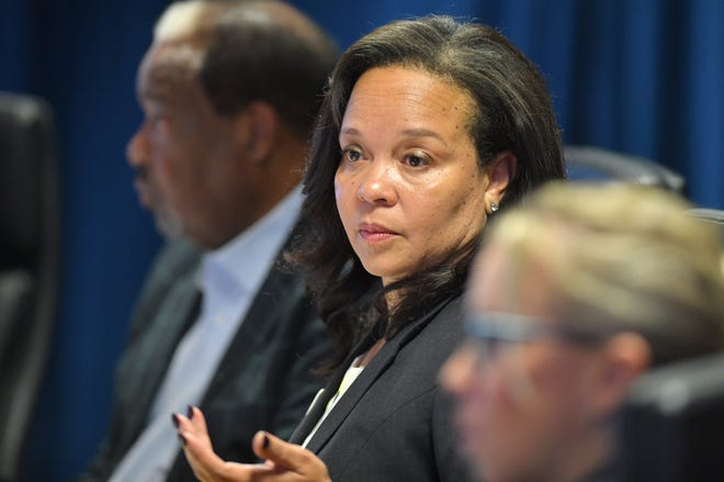 Former JEA Board Chair April Green, seen in this file photo from 2019, spoke Thursday to a federal grand jury in Jacksonville about the efforts to privatize the city utility.