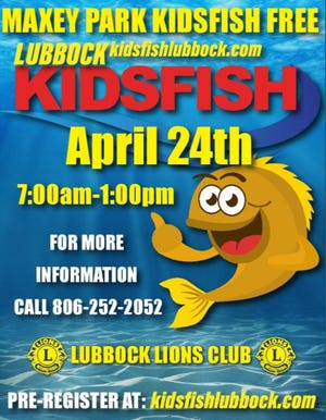 Kidsfish is on Saturday, April 24.