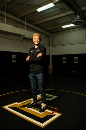 Lubbock High junior Zach Casias moved up to the 120-pound weight class this year and will be making his second trip to the Class 5A state wrestling tournament on Friday in Cypress, Texas.