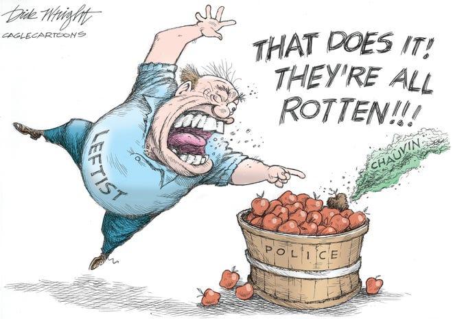 Today's editorial cartoon (April 25, 2021)