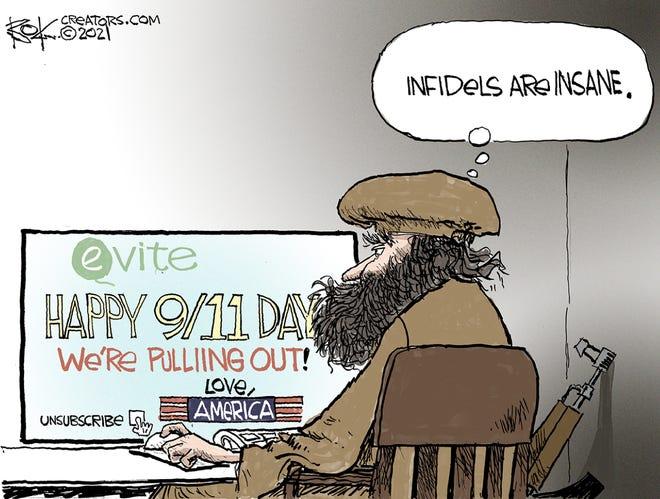 Today's editorial cartoon (April 23, 2021)
