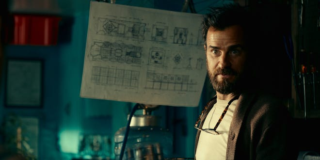 Justin Theroux plays the inventor and wannabe adventurer Allie Fox.