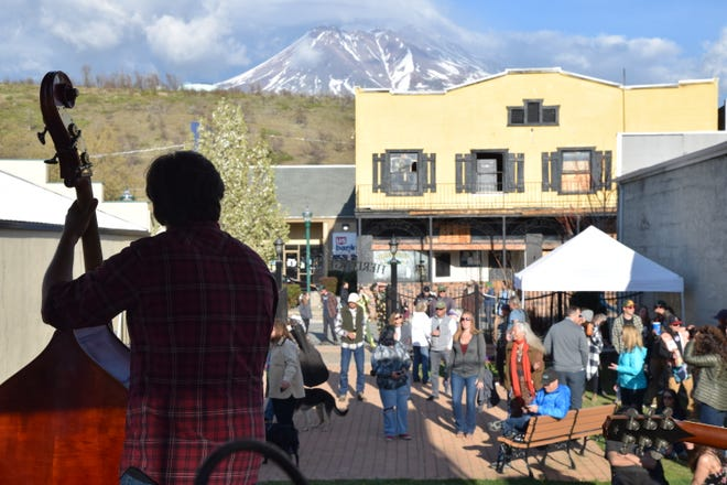 On April 20, the Weed Chamber of Commerce along with La Florista and Perfect Union dispensaries hosted a 420 Festival on Main Street with live music at the Heritage Park, with Mt. Shasta as a backdrop. Marijuana enthusiasts got to dance and have fun out in the open throughout the day. Sundown Poachers, a favorite local band, got people dancing for hours well into the evening.