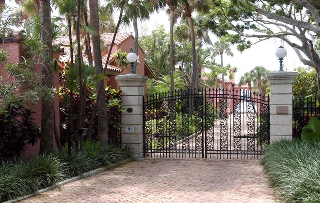 The owner of the landmarked, lakefront estate at 800 S. County Rd. is moving forward with renovations after litigation forced a pause last year. The Venetian-style home designed by Addison Mizner and built in 1923 is at a low elevation and vulnerable to flooding from the Lake Worth Lagoon.