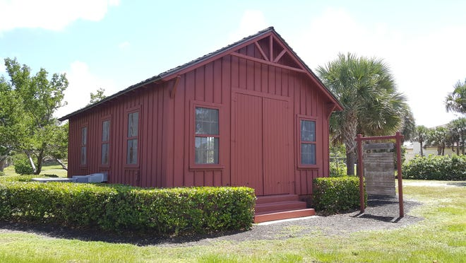 The Little Red Schoolhouse, which opened in 1886, was moved to Phipps Ocean Park in 1960.