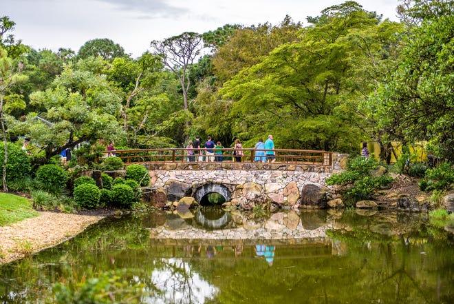Morikami Museum and Japanese Gardens in Delray Beach.