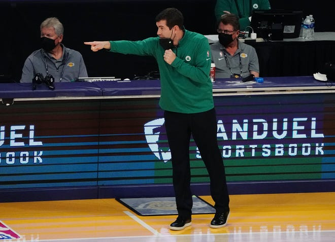 Celtics coach Brad Stevens said he and his players have talked about the George Floyd murder case and that it's important that the discussions about racial injustic continue.